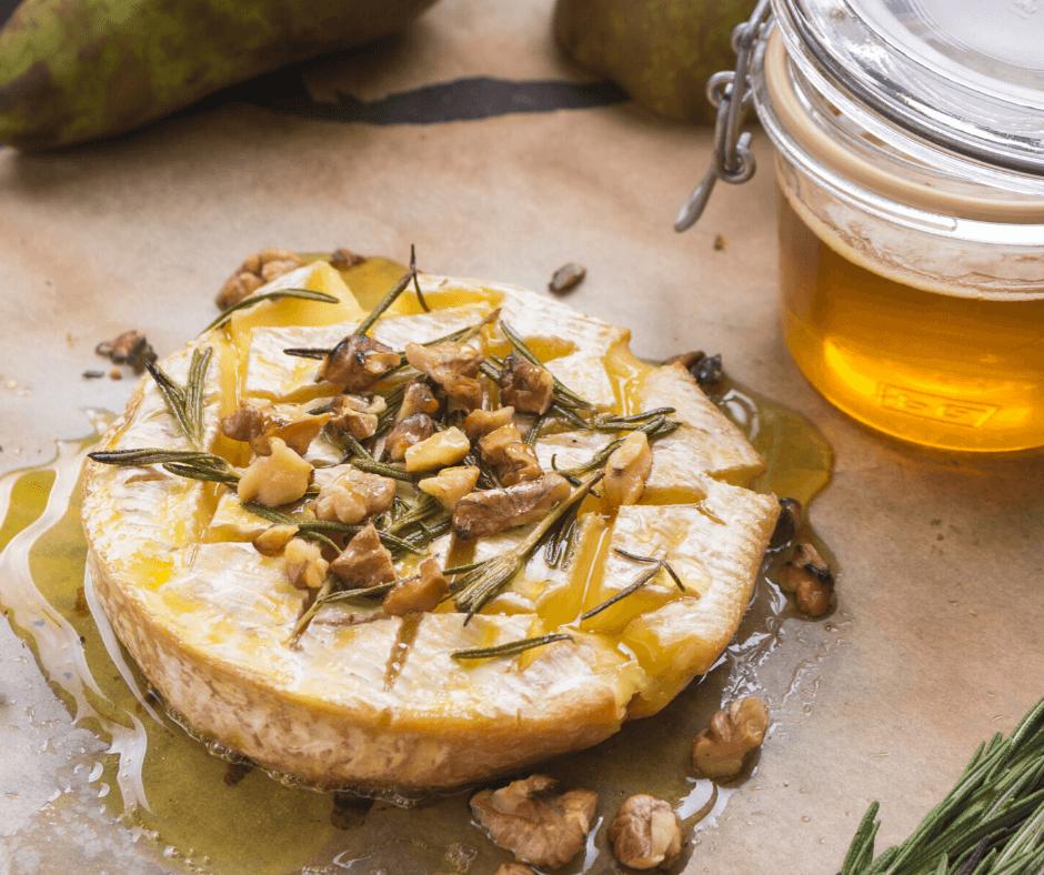 גבינת בושה בשמלת דבש